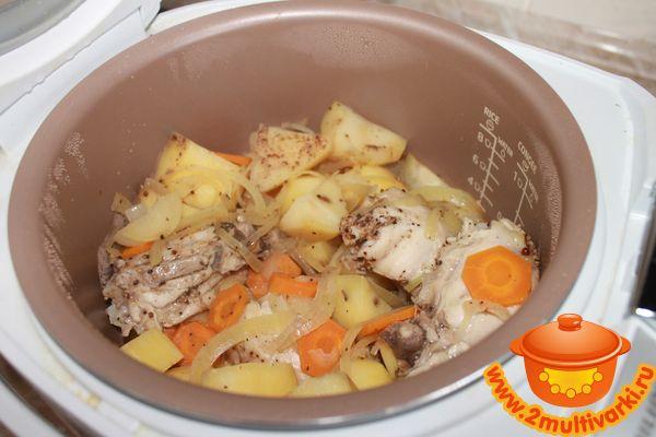 Куриные крылышки с картошкой в духовке. Пошаговый рецепт с фото - Кушать нет