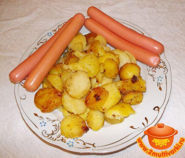Запеченные ребрышки в духовке с картошкой в фольге рецепт с фото