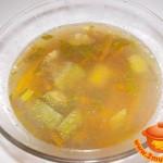Суп из овощей с чечевицей