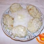 Рис с паровыми котлетами