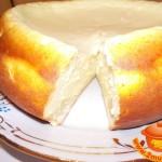 Творожный торт на завтрак