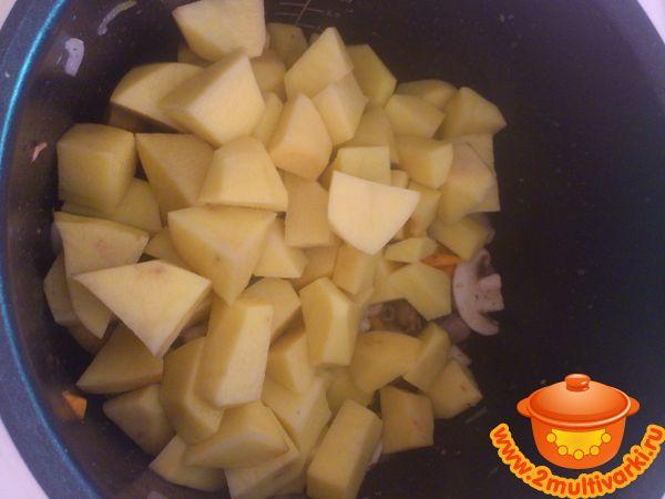 Куриные сердечки в мультиварке поларис с картошкой рецепт с фото