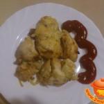 Куриное филе, запеченное под сыром в мультиварке