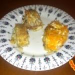 Рыба под сырно-морковной шубой