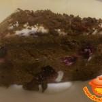 Вишнево – шоколадный торт к чаю