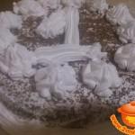 Смородиновый торт со взбитыми сливками