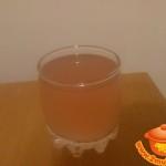 Яблочно-клубничный кисель на десерт
