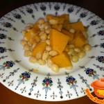 Каша из тыквы с фасолью в мультиварке