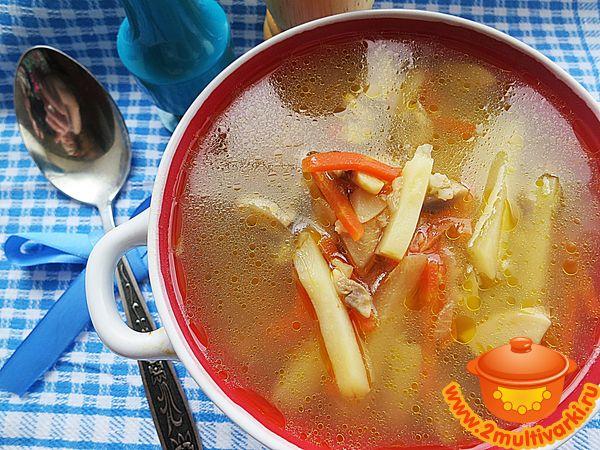 грибной суп с шампиньонами диетический рецепт